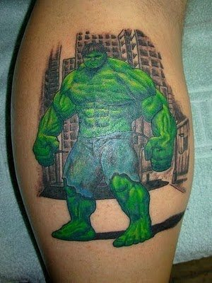 superhero tattoos. Superhero Tattoos