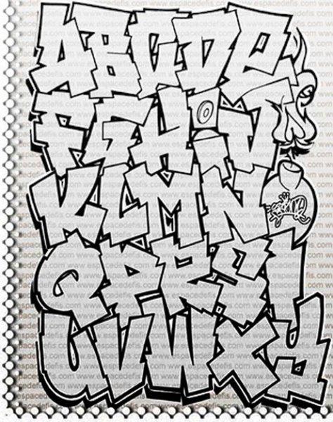 graffiti letters z 3d. Graffiti Alphabet Letters A-Z