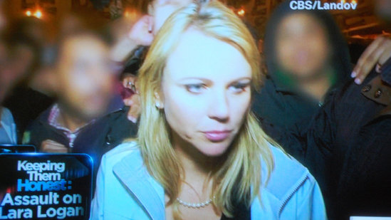 lara logan assault cell phone video. lara logan assault pics. lara logan assault pics. lara