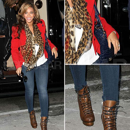 Skinny jeans celebrity styler